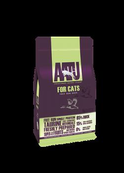 AATU 80/20/0 無穀物 走地鴨肉低敏天然貓糧 3kg
