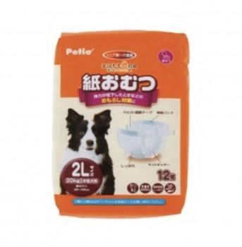 zuttone高齡犬護理專用包圍式紙尿片 2L 12片(圓點尿褲可用)