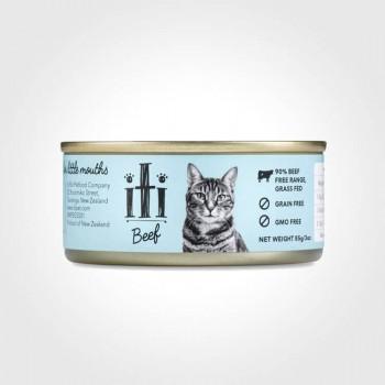 iti 紐西蘭天然貓罐 牛肉 85g