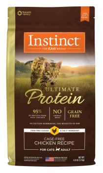 Nature's Variety 本能無穀物頂級蛋白質貓糧 - 雞肉配方10磅