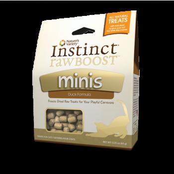 Nature's Variety Instinct Raw boost 鴨肉味 脫水小食 2.25oz