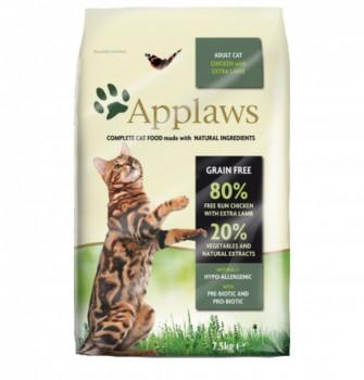Applaws 無穀物 成貓 雞肉+羊肉 7.5kg