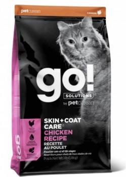 Go! Solution 護膚美毛系列-雞肉貓糧 16磅