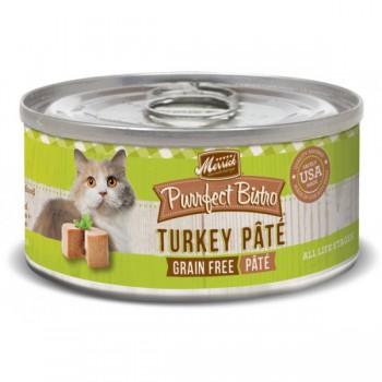Merrick 無穀物火雞肉肉醬貓罐頭 3oz